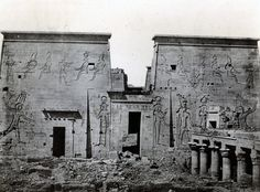 Maxime Du Camp, Cidi's tomb, Upper Egypt, c. 1850