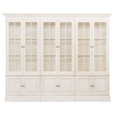 ethanallen.com - villa 3-piece library bookcase | Ethan Allen | furniture | interior designokcase | ethan allen | furniture | interior design