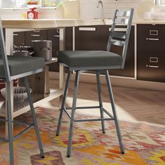 Shop Amisco  41326 Stage Swivel Metal Stool at ATG Stores. Browse our bar…
