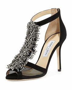 e68ba90a311 Feline+Beaded+T-Strap+Sandal