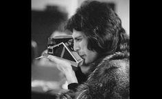 Next über-cool, über-talented celebrity with an über-cool Polaroid camera: FREDDIE MERCURY