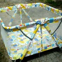 Had a playpen like this for my daughter in the 80s