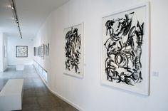 "Left: ""Esperanza"". Right: ""Amor"" by Rafael de Lemos."