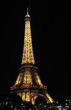 "500px / Photo ""Eiffel Tower by night"" by Alexey Fedorovsky"