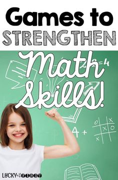 Games to Strengthen Math Skills! Tons of FREEBIES to get your kiddos excited about math!