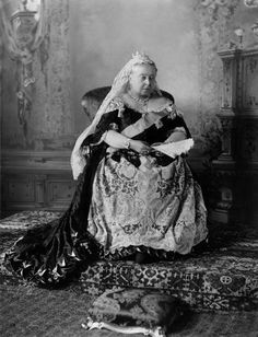 "Queen Victoria, 1896, her Diamond Jubilee year. ""I don't mind praying to the eternal Father but I must be the only man in the country afflicted with an eternal mother."" ~ Edward, Prince of Wales.     No, Prince Charles also has an eternal mother."