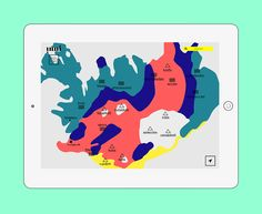 inni - discover Iceland on Behance