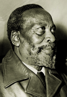 This is a picture of Jomo Kenyatta. He is often called the fouding father of Kenya. Born under the name Kamau, he later changed it to Jomo, meaning burning Spear. He governed over Kenya as president until his death in 1978. In his lifetime, he stabilied and freed the former colony of Great Britan. This pin relates to the african region because it is about the man who freed the african conty of Kenya. (History)