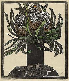 Margaret Preston - this was in our restaurant - long time ago!
