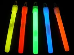 500 Glow With Us Brand 4 ASSORTED Colors Glow Sticks Bulk Wholesale Pack with FREE 200 Assorted Colo @ niftywarehouse.com #NiftyWarehouse #Halloween #Scary #Fun #Ideas