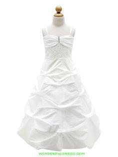 Visit our online store to find a massive range of flower girl dresses, Communion dresses, & pageant dresses in premium quality. Pageant Dresses, Girls Dresses, Flower Girl Dresses, Communion Dresses, Grandchildren, One Shoulder Wedding Dress, Bubbles, White Dress, Wedding Dresses
