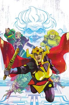 The Female Furies are a group of female warriors trained by Granny Goodness and Big Barda. The Female Furies serve Darkseid, ruler of Apokalips. The Team's former adversary and leader was Big Barda, who defected to Earth with her husband, Scott Free. Superhero Cartoon, Superhero Shows, Teen Titans, Geeks, Female Furies, Big Barda, Wonder Twins, New Gods, Dc Comics Art