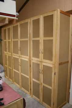 Storage Cabinets & Our Ultimate Unique Garage Storage System created and Built By ...