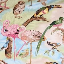 Image result for pink flamingo fabric
