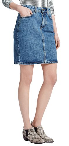 M&S LIMITED EDITION Denim Mini Skirt T69/1965J.  UK12 EUR40  MRRP: £29.50GBP - AVI Price: £24.00GBP