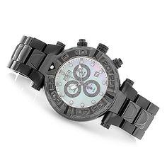 Invicta Reserve 47mm Limited Edition Subaqua Noma I Swiss Made Chronograph Watch w/ 8-Slot Dive Case ShopHQ.com