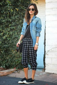 Love this comfy cool look for a weekend.  >> FRANKIE HEARTS FASHION