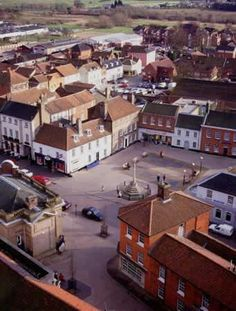 Fakenham town centre. Photo by North Norfolk District Council