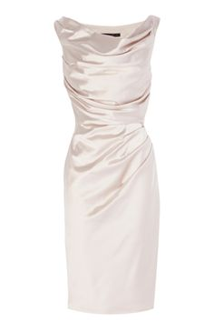 Buy Coast Manda Duchess Satin Dress, Neutral, 16 from our Women's Dresses Offers range at John Lewis & Partners. Mob Dresses, Satin Dresses, Bridesmaid Dresses, Wedding Dresses, White Satin Dress, Coast Dress, Groom Dress, Knee Length Dresses, Mother Of The Bride Dresses Knee Length