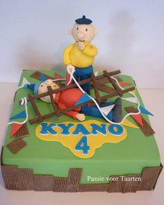 Buurman en Buurman (pat & mat) cake by Passie voor Taarten
