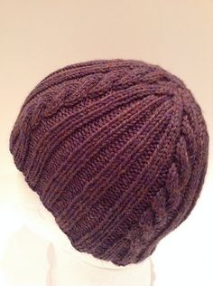 Ravelry: Ribs 'n Cables Beanie FREE pattern by Anne G.