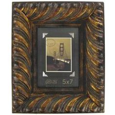 5 x 7 bronze wide wood frame with - Wooden Frames Hobby Lobby