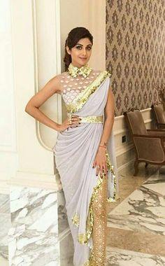Shilpa shetty and her pretty dress