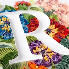 40 Examples of Creative Paper Typography Art By Anna Chiara Valentini Quilling Quilling Butterfly, Quilling Paper Craft, Paper Crafts, Butterfly Dragon, Monarch Butterfly, Quilling Letters, Paper Quilling Patterns, Rolled Paper Art, Quilling Techniques