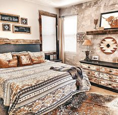 Western Bedroom Decor, Western Rooms, Cowgirl Bedroom, Rustic Bedrooms, Country Teen Bedroom, Country Girl Rooms, Western Bedding, Room Ideas Bedroom, Home Decor Bedroom