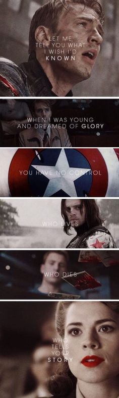 This is so sad. When Steve was able to go home, he really wasn't actually going home. He couldn't live life with out a war.