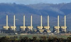 Australia's Direct Action fund may need $1bn more to meet emissions target. Hazelwood power station billows smoke from its exhaust stacks in the Latrobe Valley, 150 kms east of Melbourne.