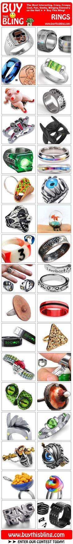 Bling Bling Rings from Buy This Bling! :)
