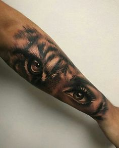 lion eyes tattoo Bengal Tiger is part of Best Lion Tiger Tattoo Images Wild Animals Big Cats - tiger eyes by Artis Garcia at Certified Customs in Denver, CO tattoos beautytatoos Tigeraugen Tattoo, Piercing Tattoo, Body Art Tattoos, Tattoo Forearm, Piercings, Forearm Sleeve, Tattoo Quotes, Brave Tattoo, Fierce Tattoo