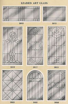 1000 images about stained glass on pinterest stained for 1920s door design