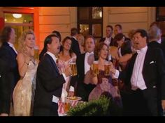 Andre Rieu - Drinking Song (I think Mario Lanza's rendition in Student Prince is best but this is pretty rousing!)