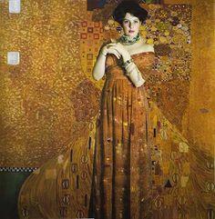 Portrait of Adele Bloch- Bauer (2009) after Klimt (1907) Emine Ceylan