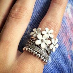 pandora white ring - Szukaj w Google