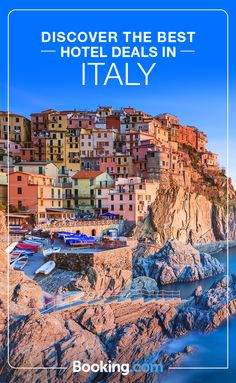 Discover the best Italy has to offer today with great deals at Booking.com. Home to some of the world's richest history, stunning coastlines, and delicious cuisine, Italy truly has something for everyone. Find today's hottest deals.
