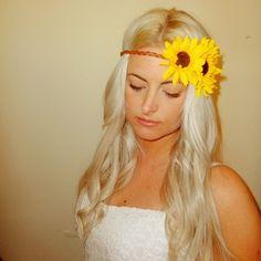 Image of Sunflower Headband