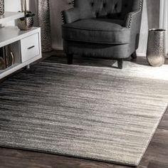 nuLOOM Geometric Abstract Stripes Fancy Black Rug x (Black), Size x Best Carpet, Diy Carpet, Modern Carpet, Rugs On Carpet, Carpet Ideas, Carpet Decor, Stair Carpet, Black Runner Rug, Black Rugs