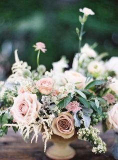 Mauve and Pink Wedding Flowers | photography by http://www.jenhuangphoto.com