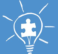 A blue puzzle piece is the symbol for autism awareness and advocacy.