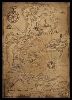 Tol Eressea   Luego del gran cataclismo provocado por la destrucción de Almaren y Las Dos Lámparas, Tol Eressëa era una gran isla en medio del Belegaer. Cuando los Elfos despertaron en Cuiviénen, en las Edades de las Estrellas y, conducidos por sus líderes (Ingwë, Finwë y Elwë), llegaron a las costas de la Tierra Media, se encontraron con la dificultad de cruzar el Gran Mar. Ulmo, el Vala, Señor de los Océanos, arrancó la Isla y la usó como gran navío para transportar a los Elfos.