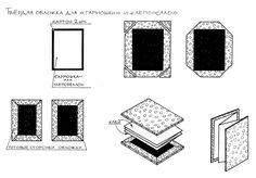 схема изготовления обложки