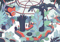 The Botanical Garden on Behance