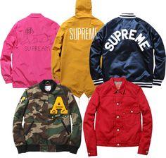 Supreme jackets (Spring/Summer 2013)