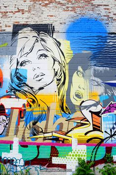 Detroit Beautification Project part six | dETROITfUNK  street art - mural - character