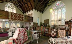 Learn more about the Australian designers behind the book Elegant Quilts, Country Charm--and their incredible quilt shop, based in a church built in 1865.