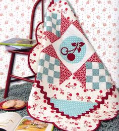 Cherry Quilt from Fresh Picked ~ this is such a cute pattern ~ I could see using this in holiday quilts, baby quilts, etc.