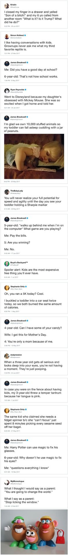 Funny Parenting Tweets Of The Year So Far